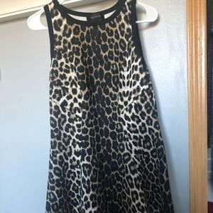 Long Cheetah print dress